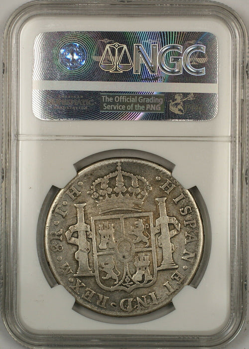 1805-MO TH Mexico 8 Reales Silver Coin NGC VG Details Mount Removed