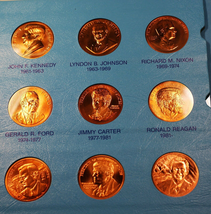 United States Mint Medals of the Presidents Complete through George W Bush