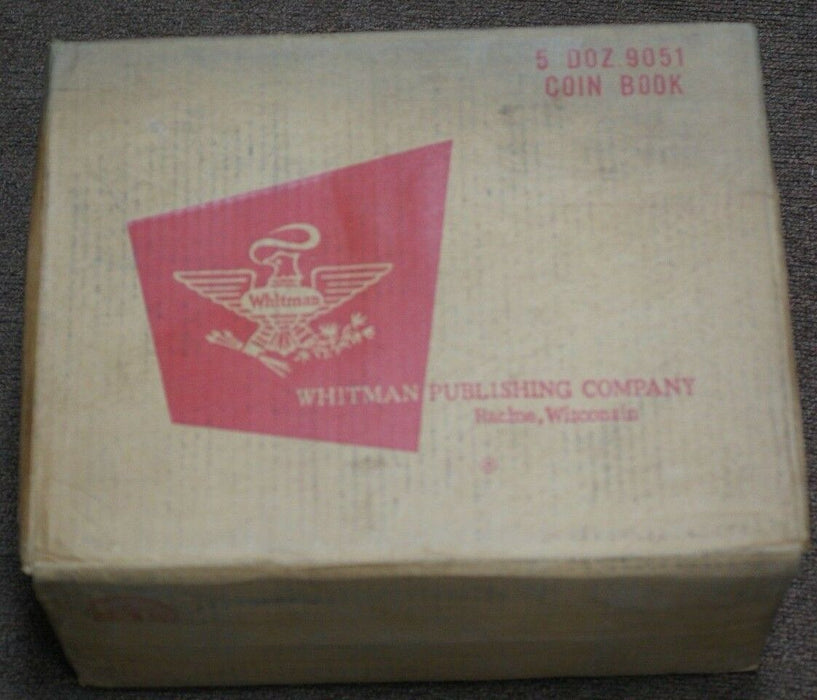 1965 Sealed Box of Whitman Red Books 60 Total 10 Sealed Boxes of 6 New Pristine