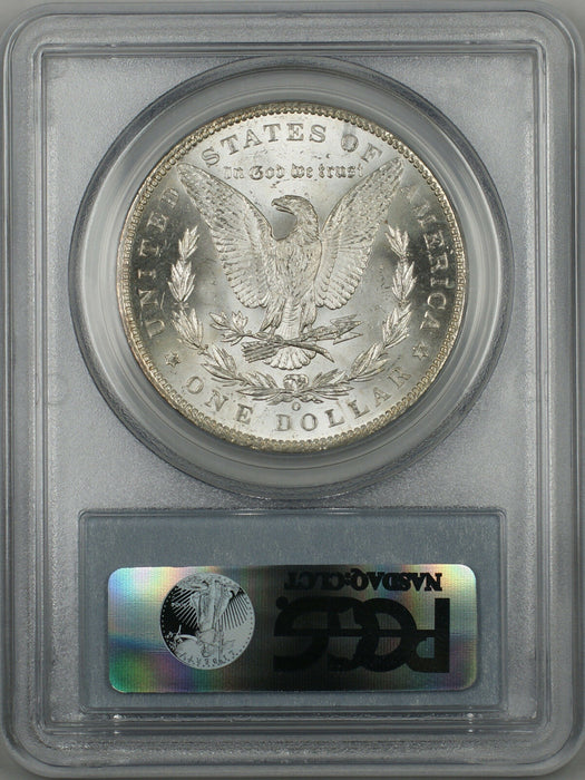 1899-O Morgan Silver Dollar $1 Coin PCGS MS-63 Better Coin (BR-24 M)