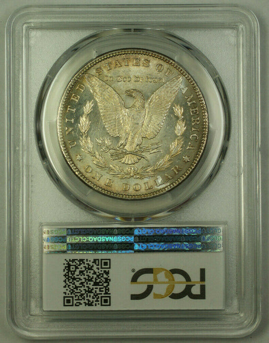 1882 Morgan Silver Dollar $1 Coin PCGS MS-63 Semi PL Prooflike Toned (20)