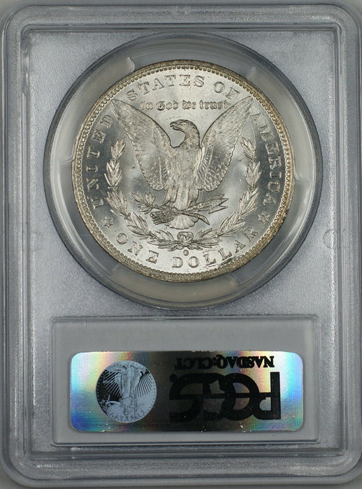 1884-O Morgan Silver Dollar $1 Coin PCGS MS-64 *Beautifully Toned Obverse* (Tc)