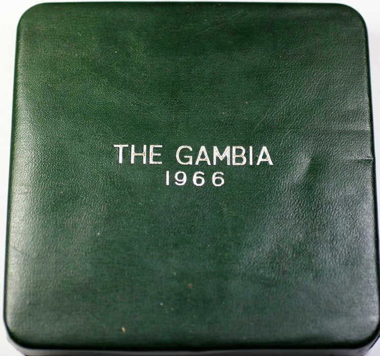1966 The Gambia 6 Coin Proof Set in the Original Government Packaging