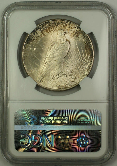 1925 Silver Peace Dollar $1 NGC MS-64 Toned (Better Coin) (15)