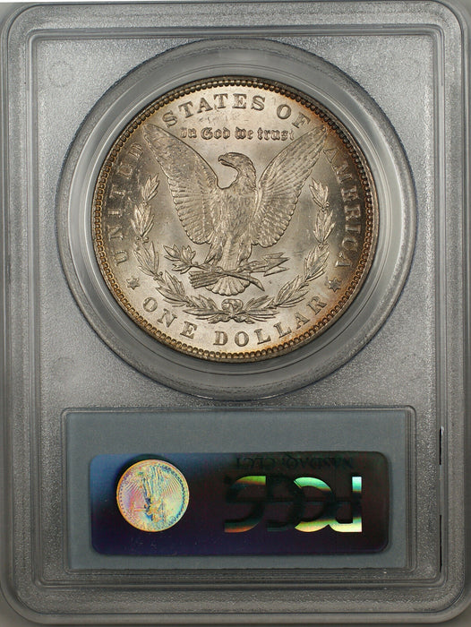 1889 Morgan Silver Dollar $1 Coin PCGS MS-63 Light Toning (BR-22 I)