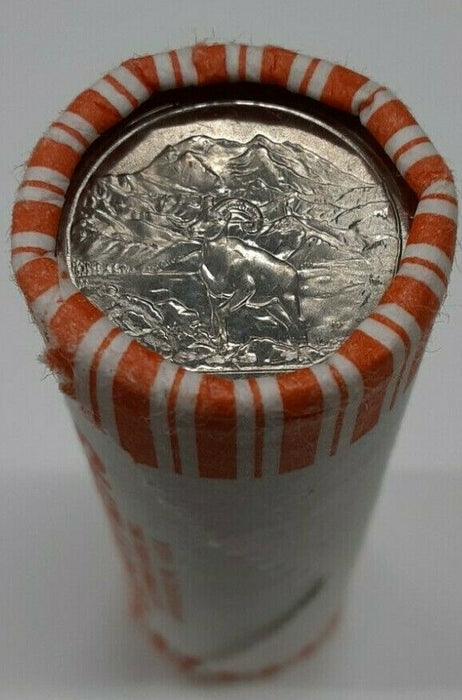 2012-P Denali National Park ATB Quarter 25c Roll BU- 40 Coins Total