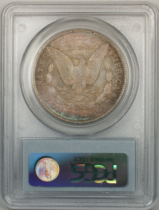 1904-O Morgan Silver Dollar $1 Coin PCGS MS-64 (BR9 F Toned)