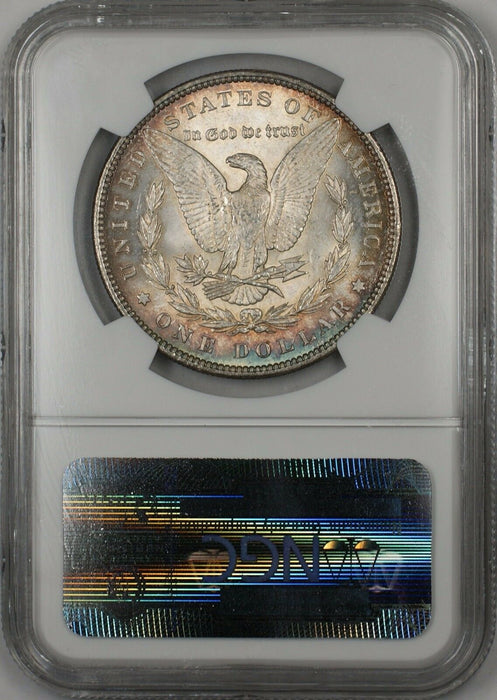 1896 Morgan Silver Dollar $1 Coin NGC MS-64 Toned