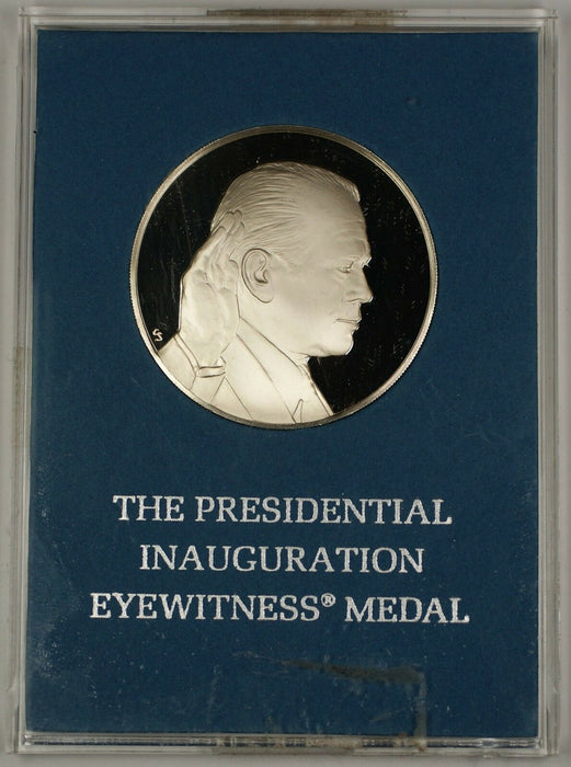 The 1974 Presidential Inauguration Eyewitness Proof Medal Sterling Silver G Ford