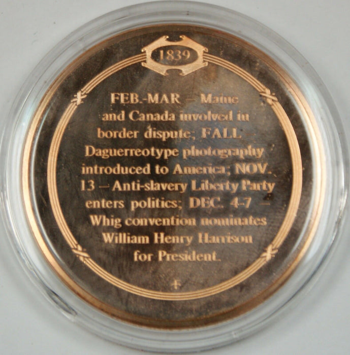 Bronze Proof Medal First Use of Photography in America Fall 1839