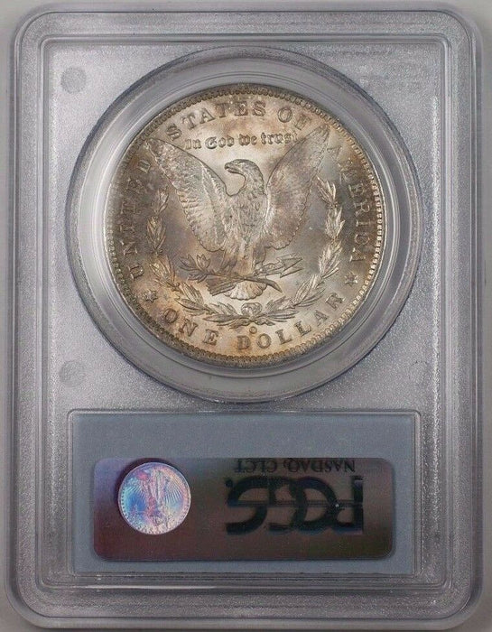 1885-O US Morgan Silver Dollar Coin $1 PCGS MS-64 Toned BR5 S