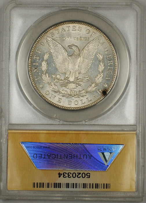 1886 Morgan Silver Dollar $1 ANACS MS-60 Details Cleaned (Semi Proof-Like) (6C)