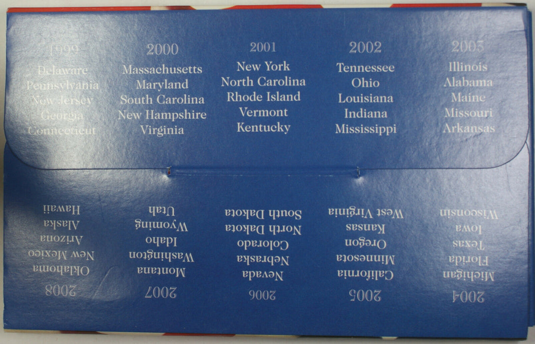 "2005 Philadelphia ""Mint Edition"" State Quarter Collection 5 Quarter UNC Set"