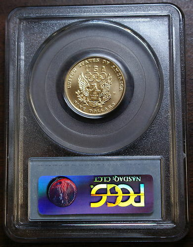 1992-W Olympic $5 Gold Commemorative, PCGS MS-70