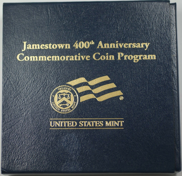 2007 W Jamestown PROOF $5 Gold Commemorative Coin w/box & COA