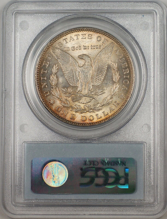 1888 Morgan Silver Dollar $1 Coin PCGS MS-63 Toned (BR-21 L)