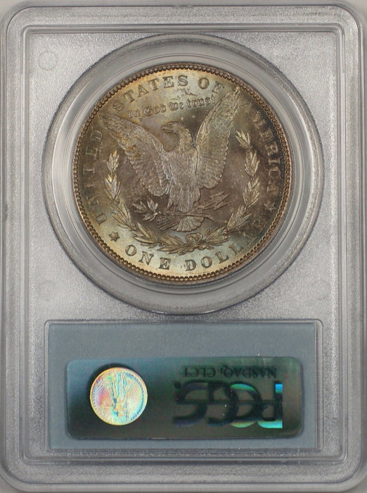 1888 Morgan Silver Dollar $1 Coin PCGS MS-63 Toned (BR-21 K)