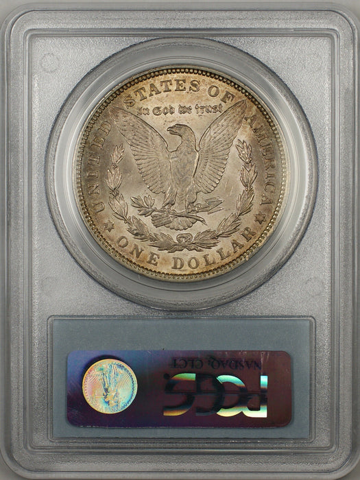 1921 Morgan Silver Dollar $1 Coin PCGS MS-63 Toned (BR-27 C)