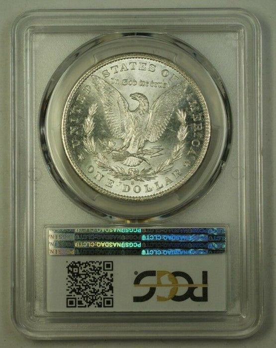 1881-S US Morgan Silver Dollar $1 Coin PCGS MS-63 (H) 12