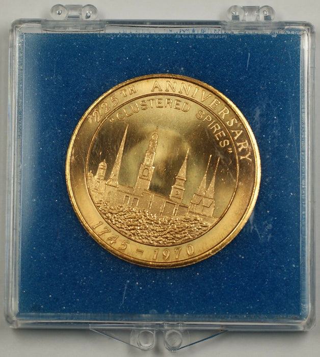 "City of Frederick Maryland 225th Anniversary ""Clustered Spires"" 1745-1970 Medal"