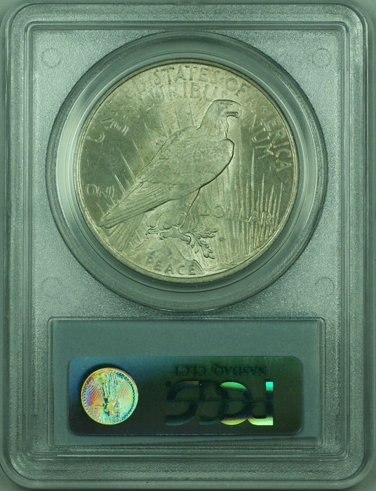 1923 Peace Silver Dollar $1 Coin PCGS MS-63 Lightly Toned (34-J)