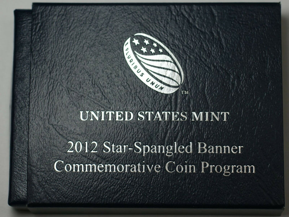 2012 Star Spangled Banner BU Silver $1 Coin in Original Mint Packaging
