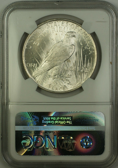 1923 Silver Peace Dollar $1 NGC MS-62 (Better Coin) (15c)