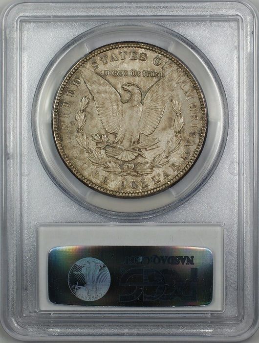 1898 Morgan Silver Dollar $1 PCGS MS-63 Toned (Better Coin) (4A)