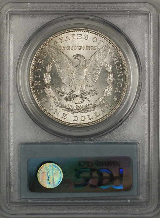 1886 Morgan Silver Dollar $1 PCGS MS-62 (Better Coin) (3H)