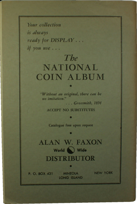 April 1963 The Numismatist for Collectors of Coins Medals Tokens Paper Money