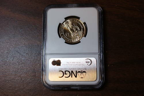 2008-D Andrew Jackson BU Dollar NGC First Day of Issue
