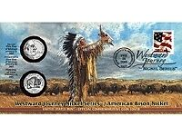 2005 American Bison First Day Coin Cover SEALED Q69