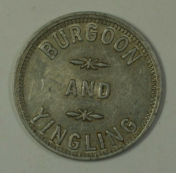 Early 20th Century Trade Token Burgoon & Yingling Westminster MD S-B-16