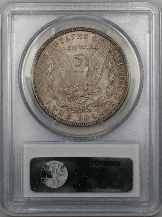 1887 Morgan Silver Dollar $1 Coin PCGS MS-64 Toned (3C)