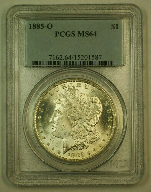 1885-O Morgan Silver Dollar $1 PCGS MS-64 (24F)