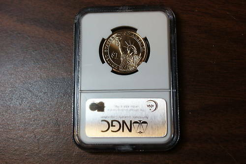 2008-D James Monroe BU Dollar NGC First Day of Issue