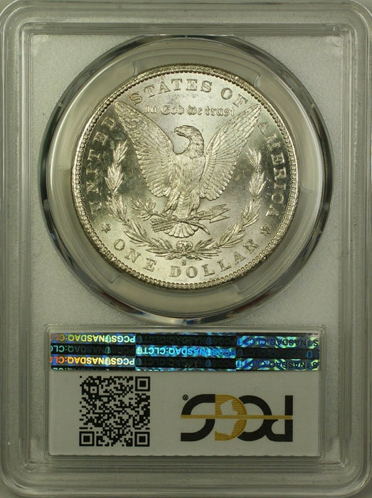 1881-S Morgan Silver Dollar $1 PCGS MS-62 (Better Coin) (14)