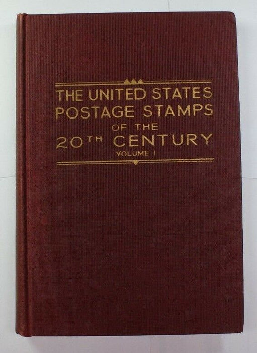 """The U.S. Postage Stamps of the 20th Century""  Vol. 1 Revised March 1937 RSE C5"