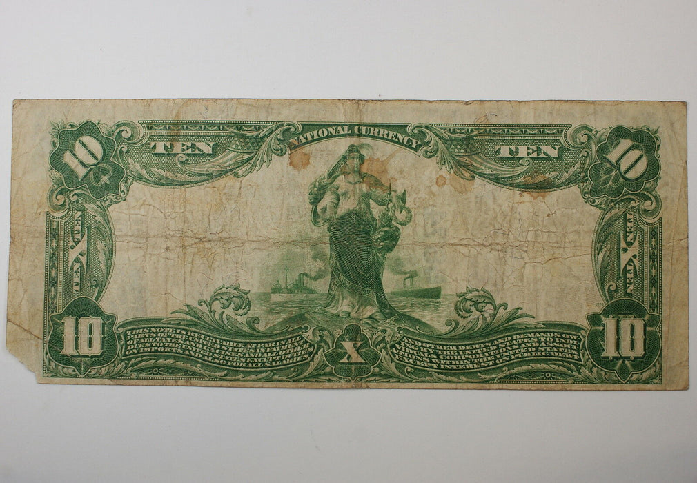 Series 1902 $10 National Currency Note, Hoosick Falls NY