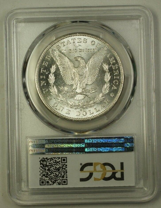 1881-S US Morgan Silver Dollar $1 Coin PCGS MS-63 (C) 12