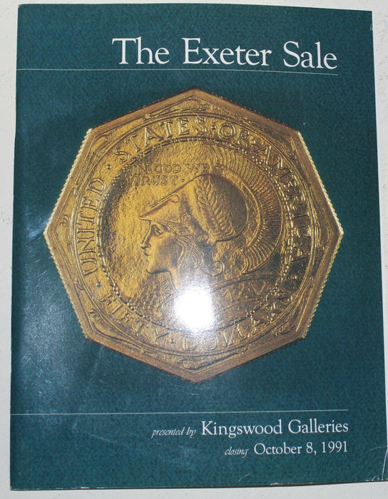 The Exeter Sale Kingswood Galleries Auction Catalog October 1991 WW4T