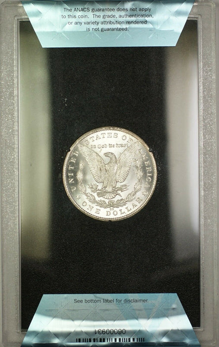 1885-CC GSA Hoard Morgan Silver Dollar $1 Coin ANACS MS-62 with Box & COA