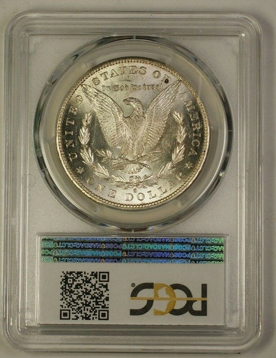 1889-S US Morgan Silver Dollar Coin $1 PCGS MS-61 (Better) (18)