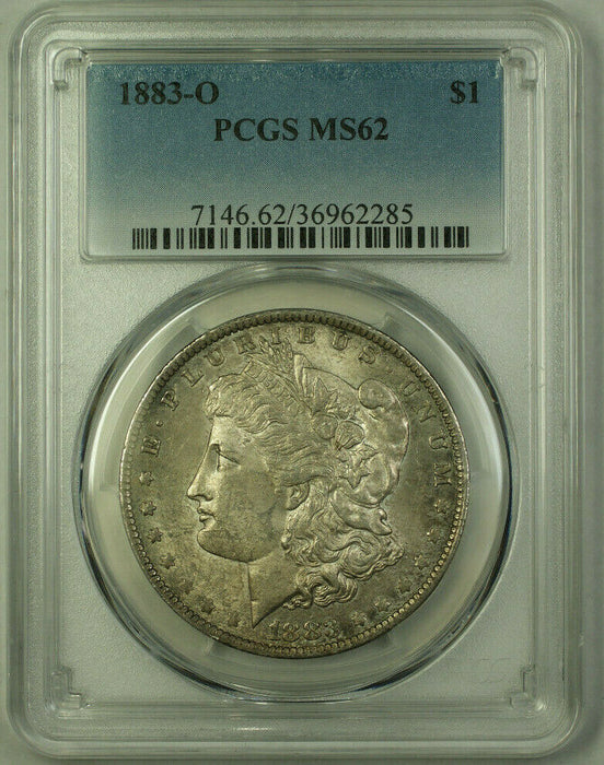 1883-O Morgan Silver Dollar $1 Coin PCGS MS-62 Toned (20)