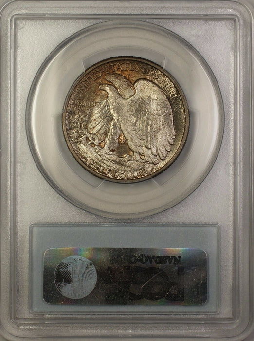 1941 Walking Liberty Silver Half Dollar 50c Coin PCGS MS-65 Toned Gem DGH
