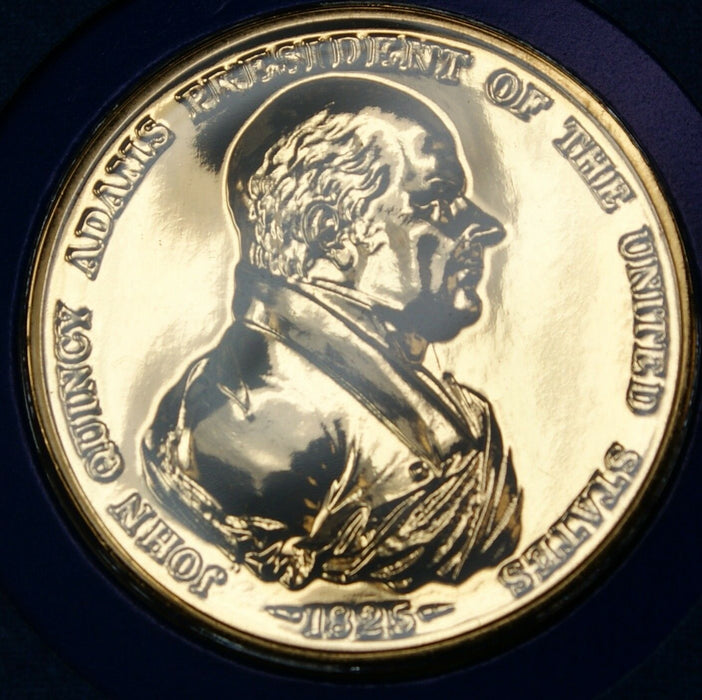 "John Quincy Adams Presidential Medal, From the ""Hail to The Chiefs"" Collection"