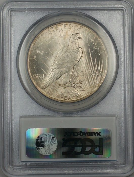 1922 Silver Peace Dollar $1 PCGS MS-63 5B Toned Better Coin