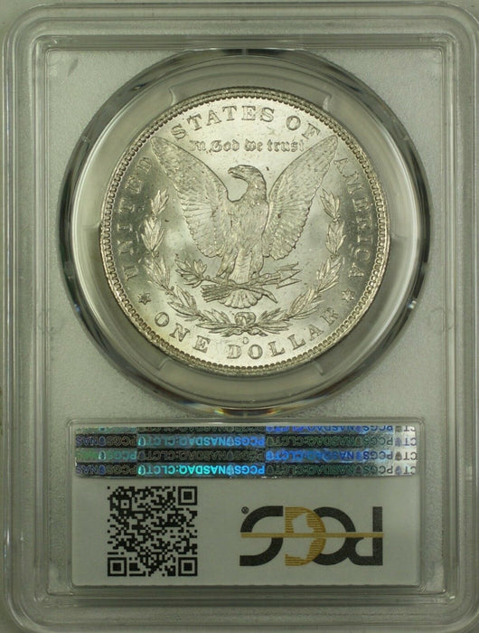 1885-O Morgan Silver Dollar $1 Coin PCGS MS-63 (5G)