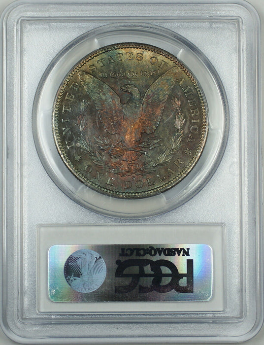 1879-S Morgan Silver Dollar $1 Coin PCGS MS-64 *Toned* Near Gem