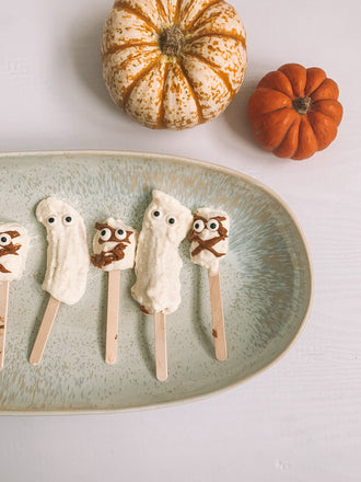 Recipes for Kids - Halloween Baking Recipes - Mother and Daughter Matching Outfits